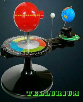 Модель, земля, солнце, теллурий, tellurium