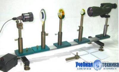 Моделирование, зрительной, трубы, микроскоп, лабораторная установка
