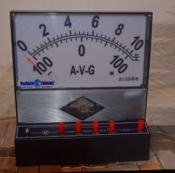ампервольтметр, гальванометр, демонстрационный, стрелочный, амперметр, вольтметр