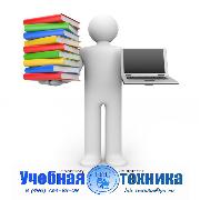 логотип, учебная, техника, учебное, оборудование